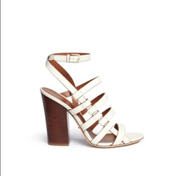 b4cfb29bde07 Sergio Rossi Shoes - SERGIO ROSSI chunky heel strappy leather sandal